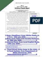 Orissa Flood News Alert_Jul_17&18_09