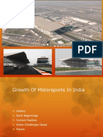 Growth of Motorsports in India