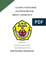 Proposal Karya Tulis Ilmiah Pupuk Organik (1)
