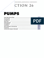 Mechanical Component -Pumps