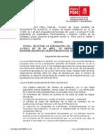 24-09-2012-Moción para la Derogación del Real Decreto Ley 14-2012, Educación.