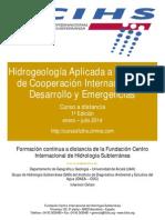 Folleto I Curso Hidrogeología Aplicada a Proyectos de Cooperación Internacional al Desarrollo y Emergencias