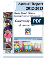 Alamance Partnership for Children's Annual Report 2012-13