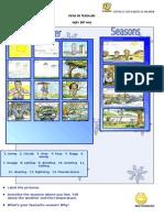 Ficha de Trabalho Ingles 5_6 Weather and Seasons