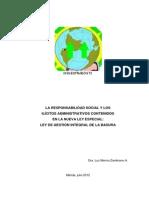 La Responsabilidad Social y Los Ilicitos Administrativos en La Nueva Lgib