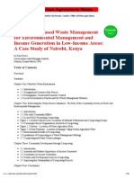 Waste Management in Nairobi Kenya