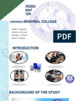Computerized Enrollment System