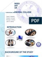student enrollment system thesis documentation