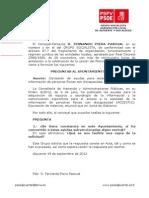 Preguntas Pleno-24-09-2012-Solicitud Ayuda Generalitat a Discapacidad