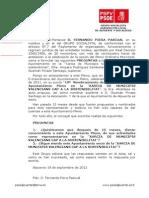 Preguntas Pleno-24-09-2012-Concejales Xarcia de Municipis Valencians Cap a La Sostenibilitat