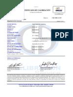 Certificado 50 n.m