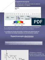 Espectrocopia de  Uv-Visible