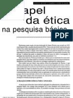 02. (Genética e ética) O papel da ética na pesquisa básica - D. Meyer & C. N. El-Hani