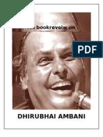 BOOKREVIEW OF DIRUBHAI AMBANI