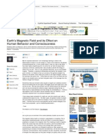 Effect of Earth's Magnetic Field