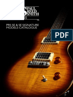 PRS SE Catalogue
