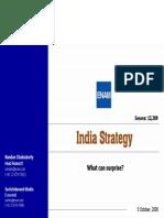 India Stratergy Enam