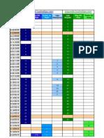 Calendario competiciones tuotraliga