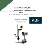 Manual de Instrucciones Sierra 240 y 241 Rev. H.1. (ESP)