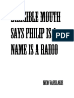 Dirigible Mouth Says Philip is a Name is a Radio
