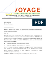 Proposal Voyage School