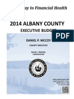 2014 Albany County Executive Budget