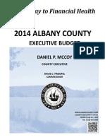 2014 Albany County Executive Budget