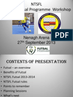 NTSFL U8-U9 Futsal Workshop 2013-2014
