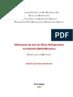 Otimização do uso de óleos refrigerantes na indústria metal-mecânica