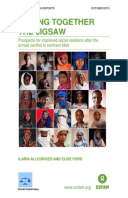 Piecing Together the Jigsaw: Prospects for improved social relations after the armed conflict in northern Mali