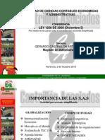 Conferencia Ley 1258 - 2008.