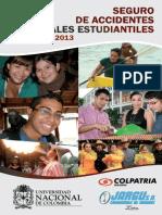 Cartilla_PolizaSeguroAccidentesEstudiantesUNAL_2013