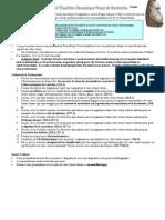 Bio11F Major Research Project - Biodiversite Et l'Equilibre Dynamique