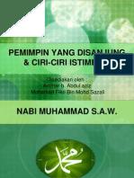 Edu 3108 Pemimpin Yang Disanjung Dan Ciri-ciri Istimewa