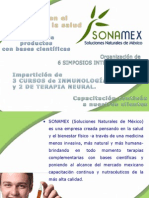 Presentacion Sonamex Medicos 2013