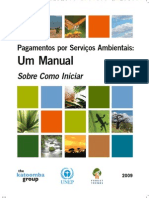 Pagamentos Por Servicios Ambientais