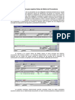 Procedimiento para registrar Notas de Débito de Proveedores