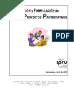 Elaboracion y Formulacion de Proyectos Participativos