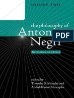 Timothy S. Murphy, Abdul-Karim Mustapha-The Philosophy of Antonio Negri - Volume Two Revolution in Theory (v. 2)(2007)