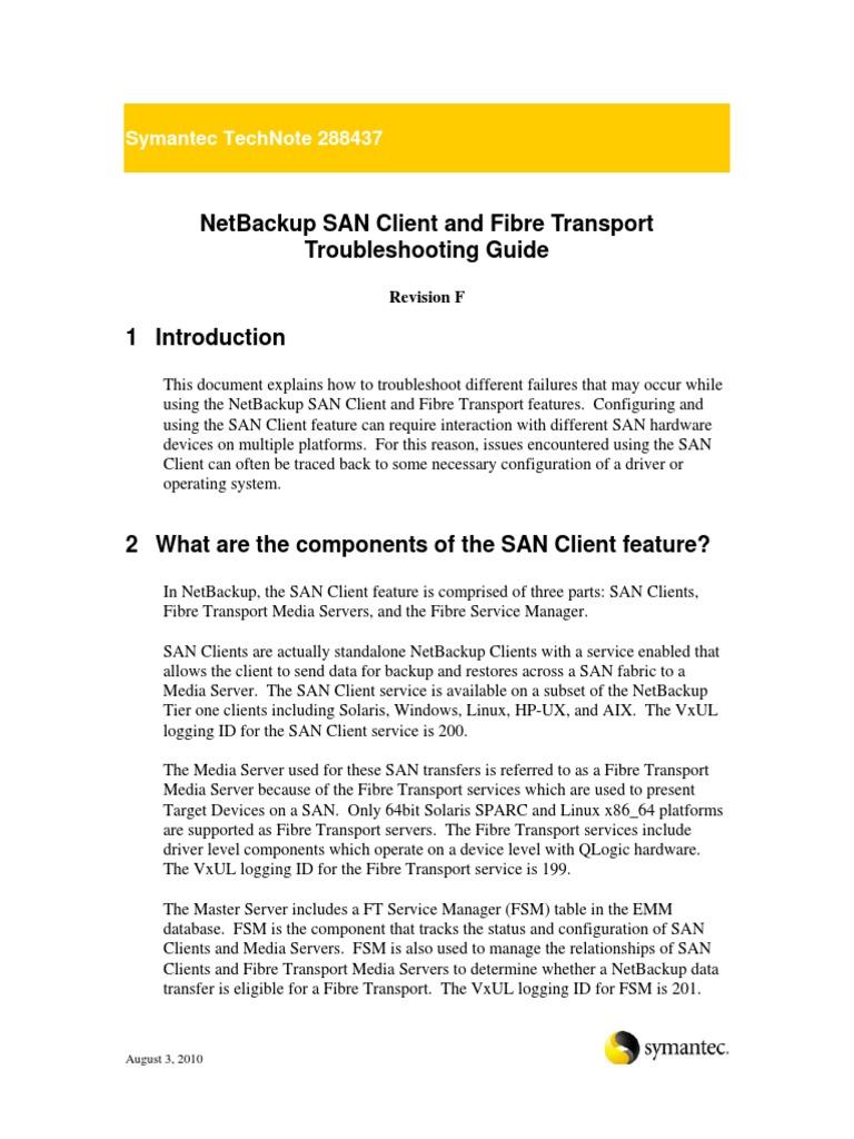 netbackup san client and fibre transport troubleshooting device rh pt scribd com HP 2010 Settings HP Mini