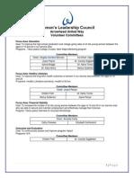volunteer committees as of 10-9-13