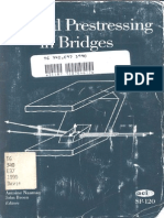 External Prestressing in Bridges