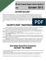 2013 Oct Newsletter