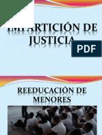 IMPARTICIÓN DE JUSTICIA TS CON INSTITUCIONES
