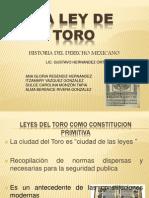 LA LEY DE TORO