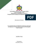 VIEIRA - Uso racional de água em habitações de interesse social como estratégia para a conservação de energia em Florianópolis_Santa Catarina