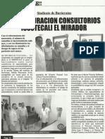 Inauguran Consultorios en Issstecali Mirador