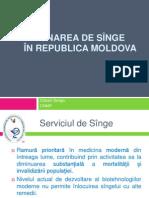 3 . Donarea de sînge în Republica Moldova 1