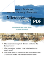 Consumers, Produers, And Efficiency of Markets