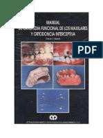 Manual de Ortopedia Funcional y Ortodoncia Interceptiva - Quiros
